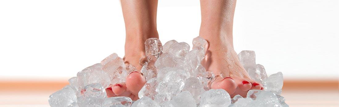 Causas y remedios para los pies fríos