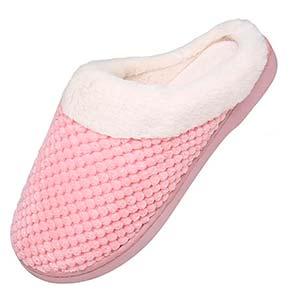 Zapatillas de Casa Mujer Invierno Pantuflas Antideslizantes comodas