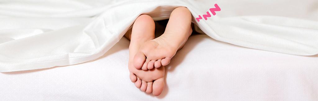 Tengo los pies dormidos ¿Qué puedo hacer?