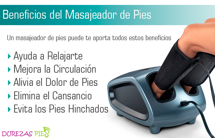 Beneficios de los masajeadores de pies