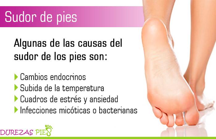 Sudor de pies